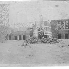 1922 Construction of FHS - Pat Adler
