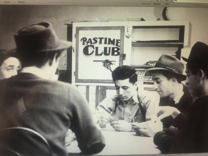 1940 Pastime Club
