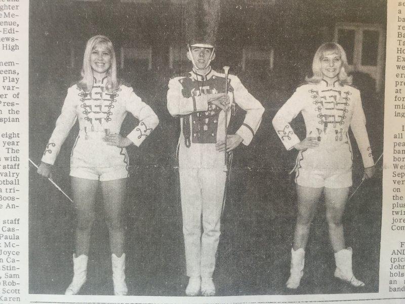 Majorettes Photo 1966