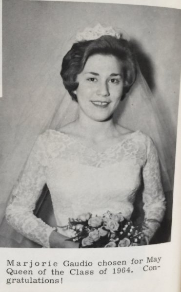 Marjorie Gaudio 1964 May Queen