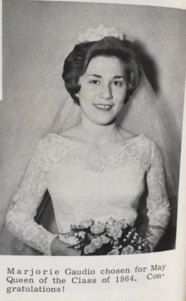 Marjorie Gaudio 1964 May Queen