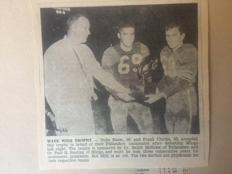 McGraw-Rushka Trophy 1961