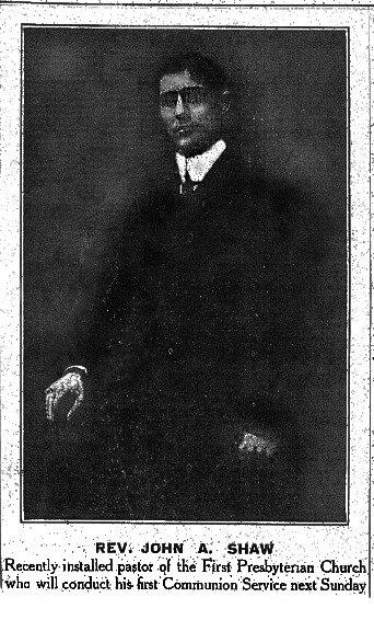 Rev John Shaw