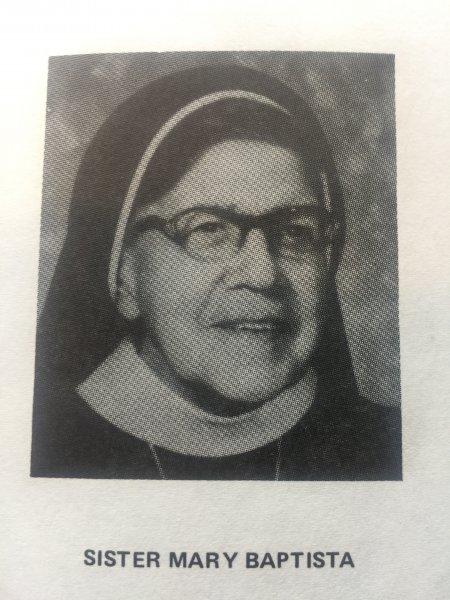 Sister Mary Baptista