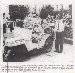 Honorary Parade Marshalls