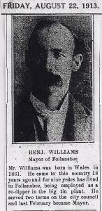 Mayor Benjamin Williams