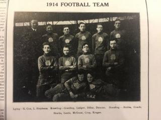 1914 Football Team