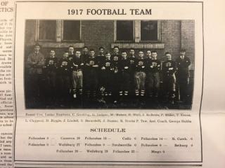 1917 Football Team