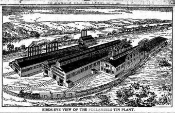 Follansbee Sheet Metel Mill 1909